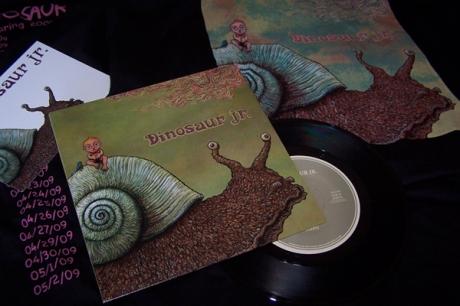 Dinosaur Jr. record cover 1-2
