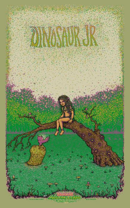 Dinosaur Jr. Austin Poster