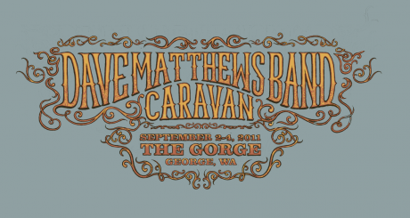 Dave Matthews Band Caravan - Gorge Graphic