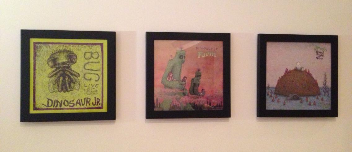 Dinosaur Jr./J Mascis Album Covers