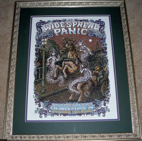 White Widespread Panic - Frame-up Winner