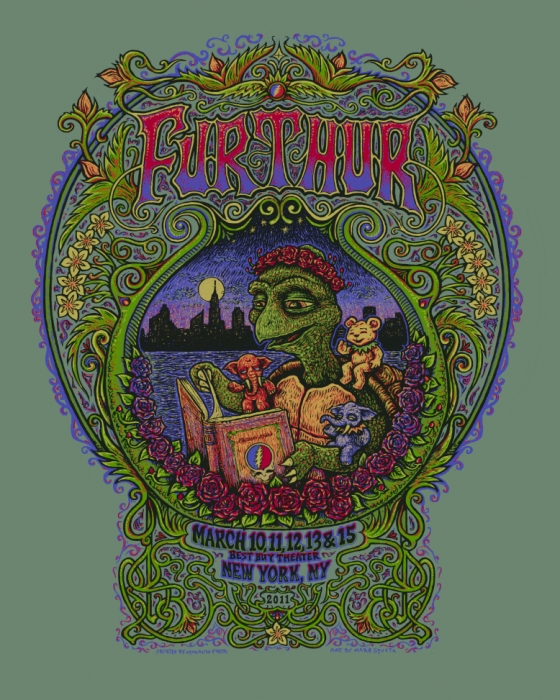 Furthur Poster, New York, NY