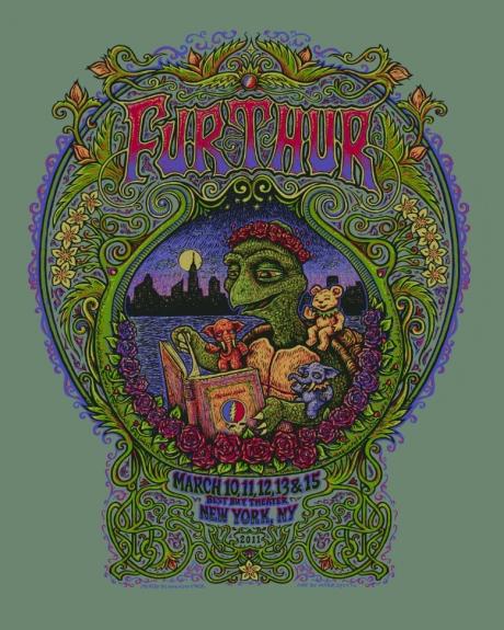 Furthur Poster, New York, NY