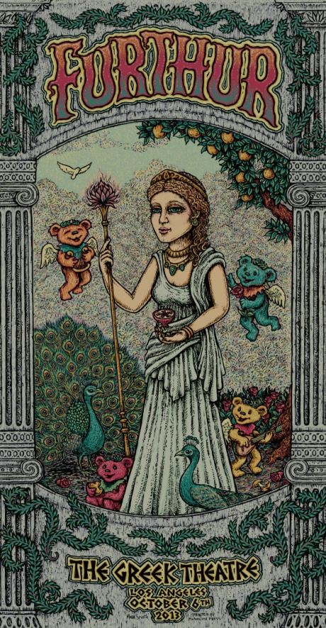 Furthur Greek Poster Night 3