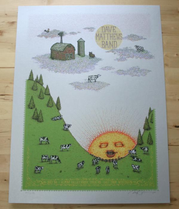 DMB-Alpine Poster - Artist edition