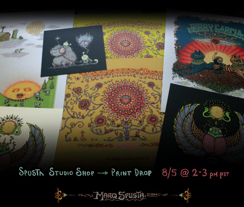 8/5 Spusta Studio Shop Print drop