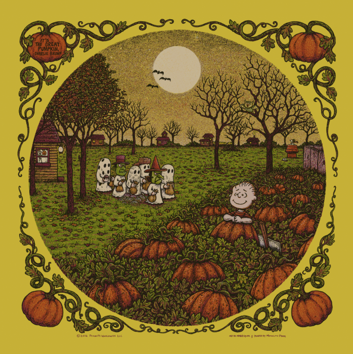 It's The Great Pumpkin, Charlie Brown. Gold Edition of 60.