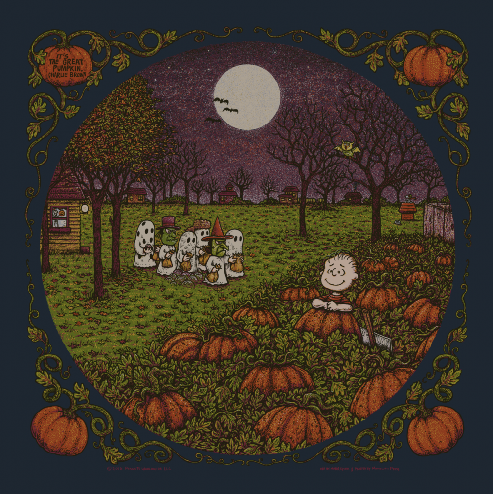 It's The Great Pumpkin, Charlie Brown. Standard Edition of 550.