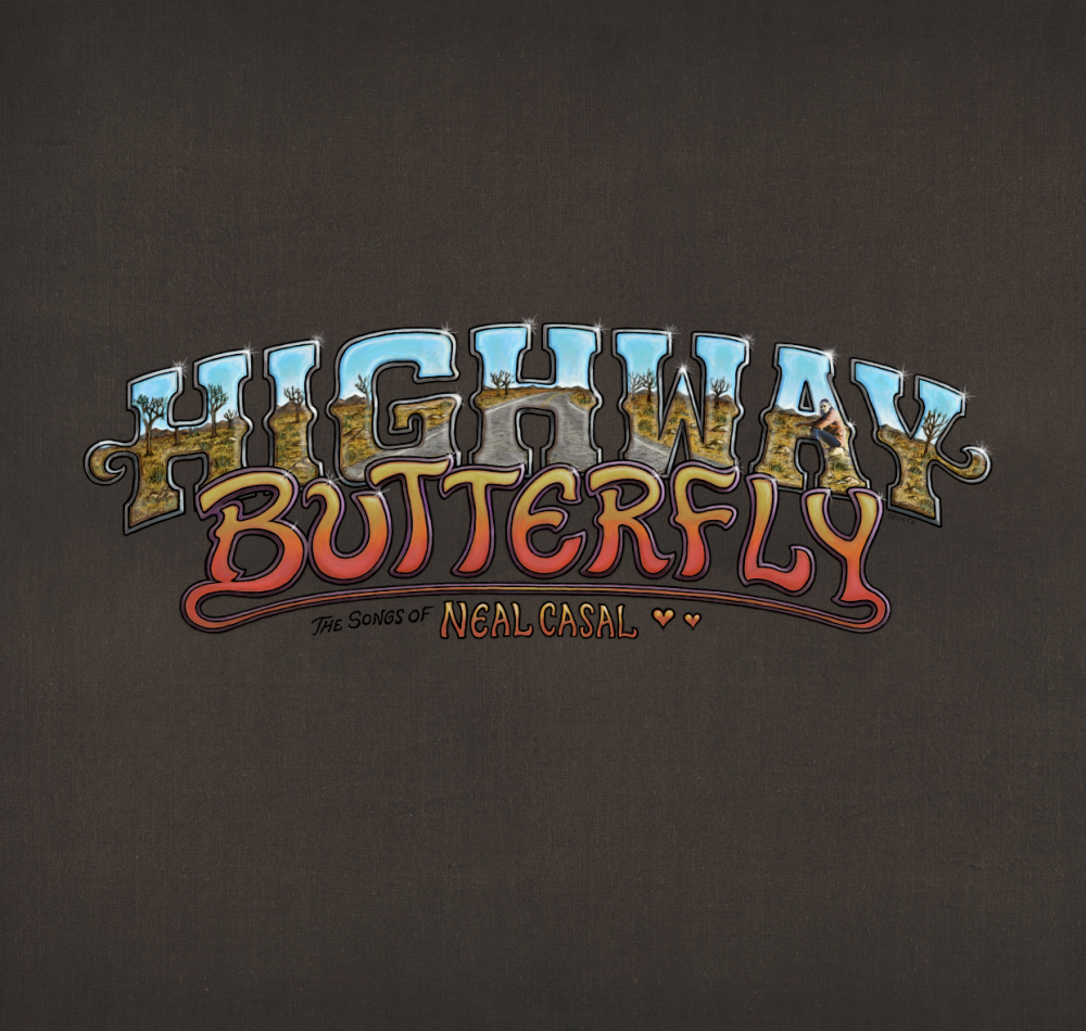 Highway Butterfly Lettering