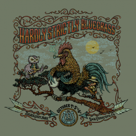 Hardly Strictly Bluegrass Shirts