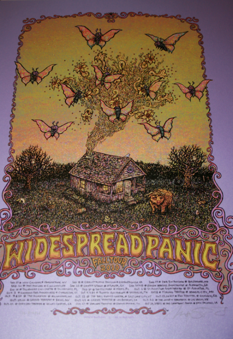 Widespread Panic Fall (Purps of 12)=$120