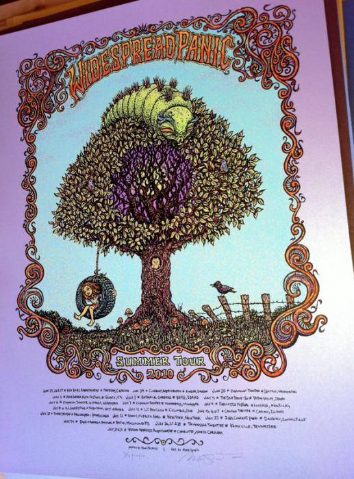 Widespread Panic Summer 2010 (Purps of 13)=$130
