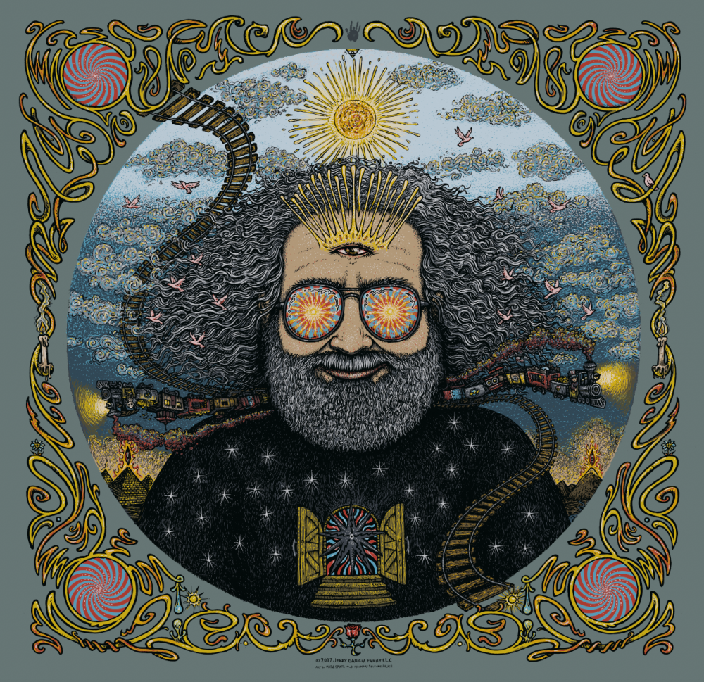 Jerry Garcia Bicycle Day Print - Main Edition