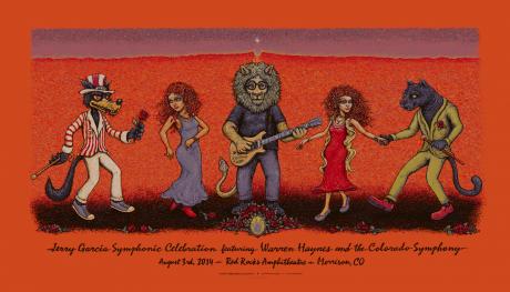 Jerry Garcia Symphonic Celebration at Red Rocks