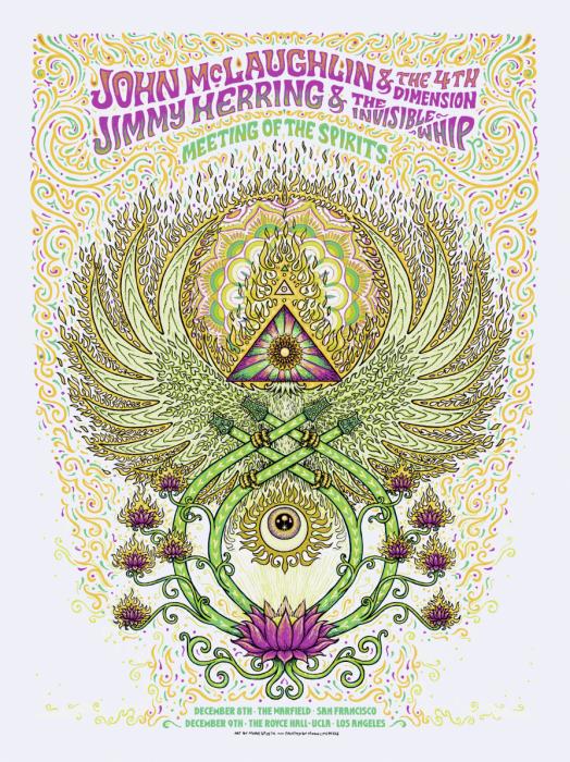 John McLaughlin / Jimmy Herring Poster