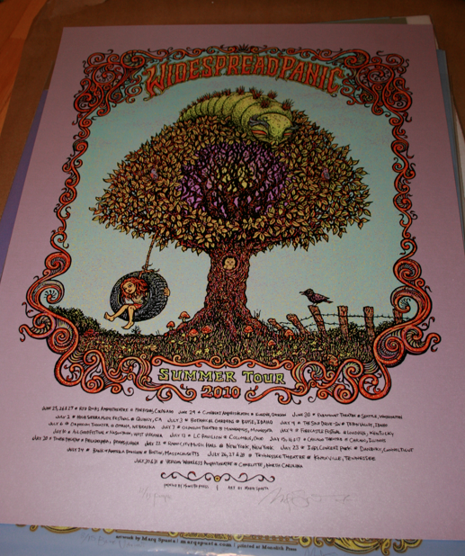 Widespread Panic - 2010 Summer Tour, Purple Variant