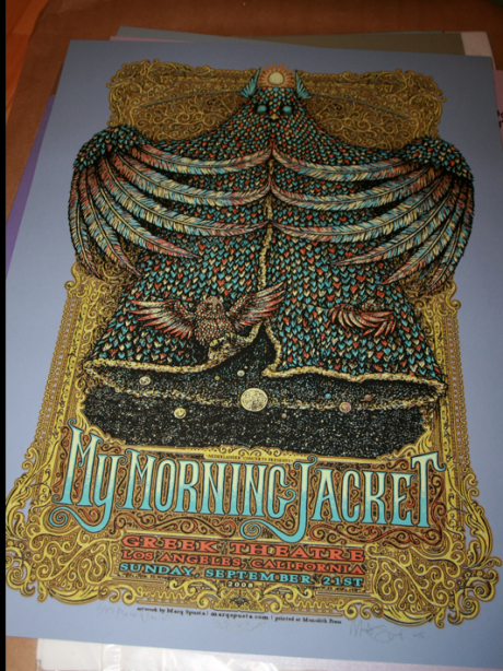 My Morning Jacket - Blue Variant