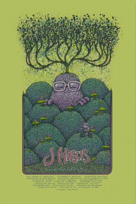 J Mascis Tour Poster