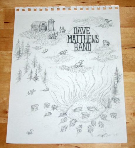 DMB Alpine Sketch
