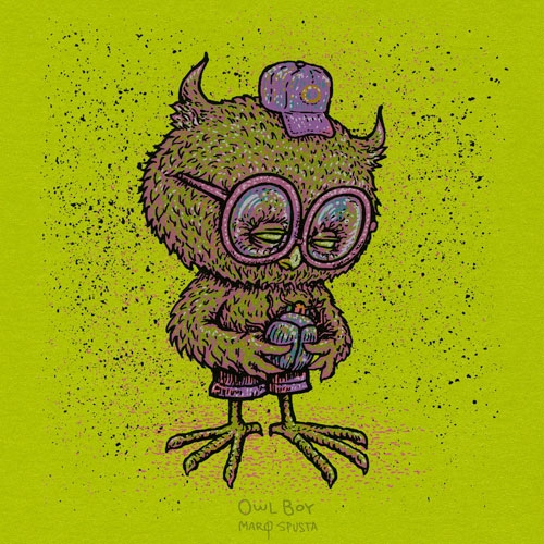 Owl Boy Mini Print Variety