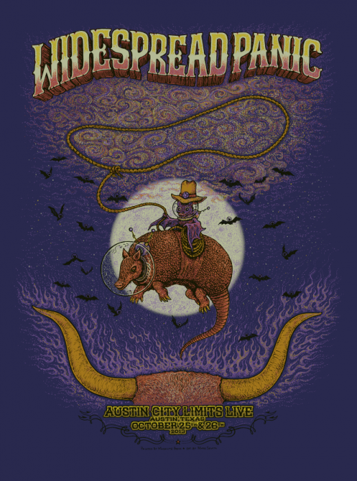 Widespread Panic - Austin City Limits Poster