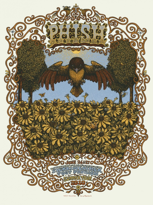 Phish - Merriweather Post Pavilion Poster