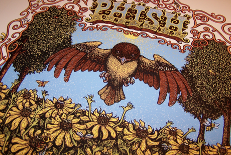 Phish - Merriweather Post Pavilion Poster Close-up