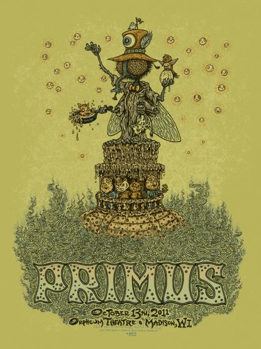 Primus - Madison Poster