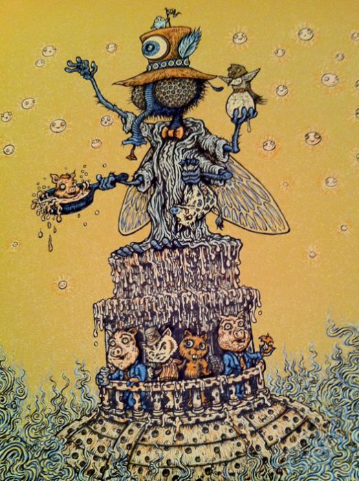 Primus poster close-up