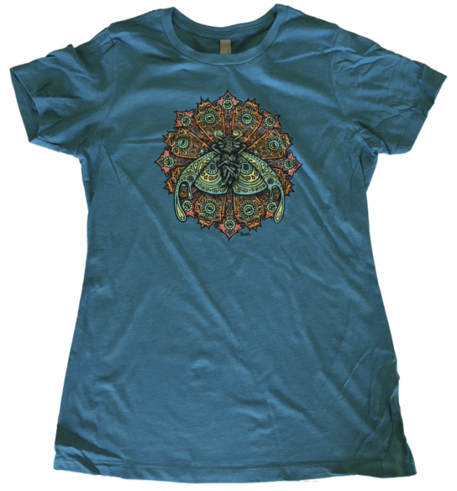 Bliss Bug Ladies Teal Shirt