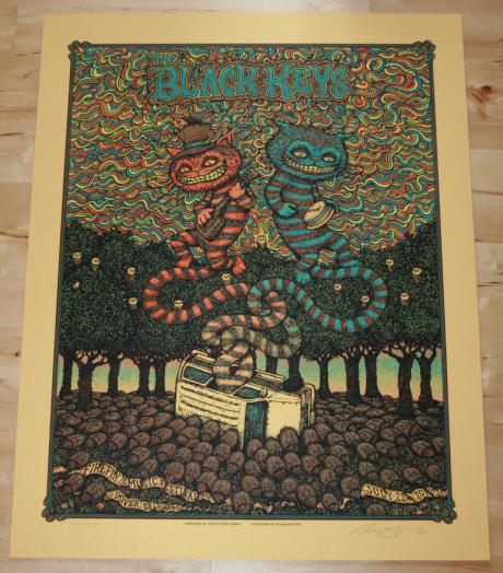 The Black Keys - Firefly Fest Poster