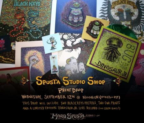 Spusta Studio Shop Print Drop