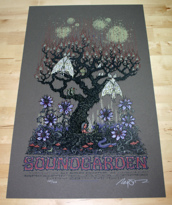 Soundgarden Broomfield Poster