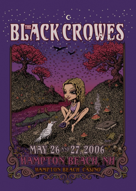 The Black Crowes - Hampton Poster