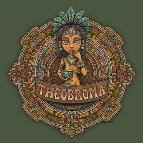 Theobroma illustration