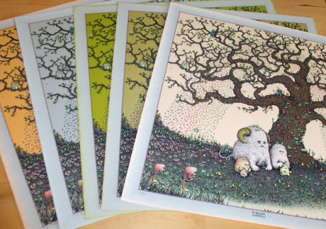 The Tree & We - all 5 editions