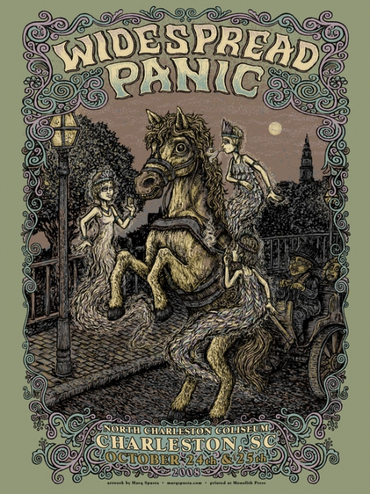 Widespread Panic Charleston