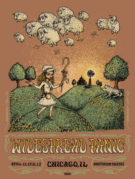 Widespread Panic Chicago