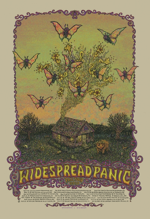 Widespread Panic Fall Tour 2