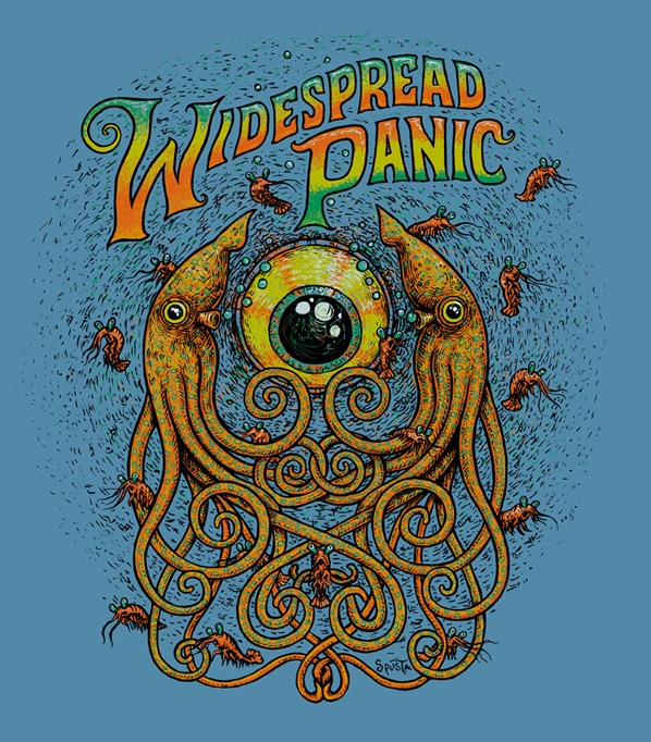 Widespread Panic Under the Sea Shirt