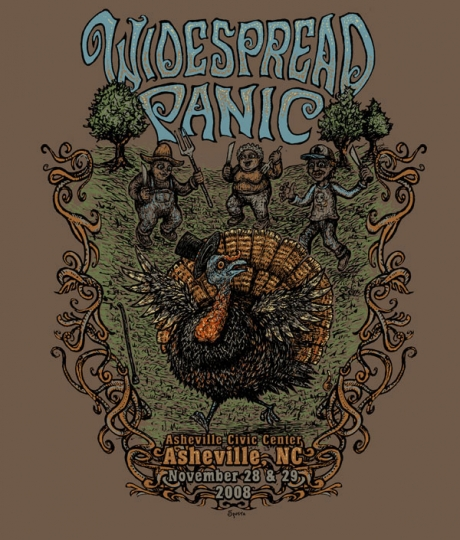 Widespread Panic Shirt Graphic