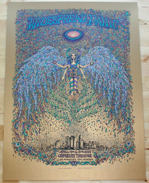 Widespread Panic LA Old Gold Variant