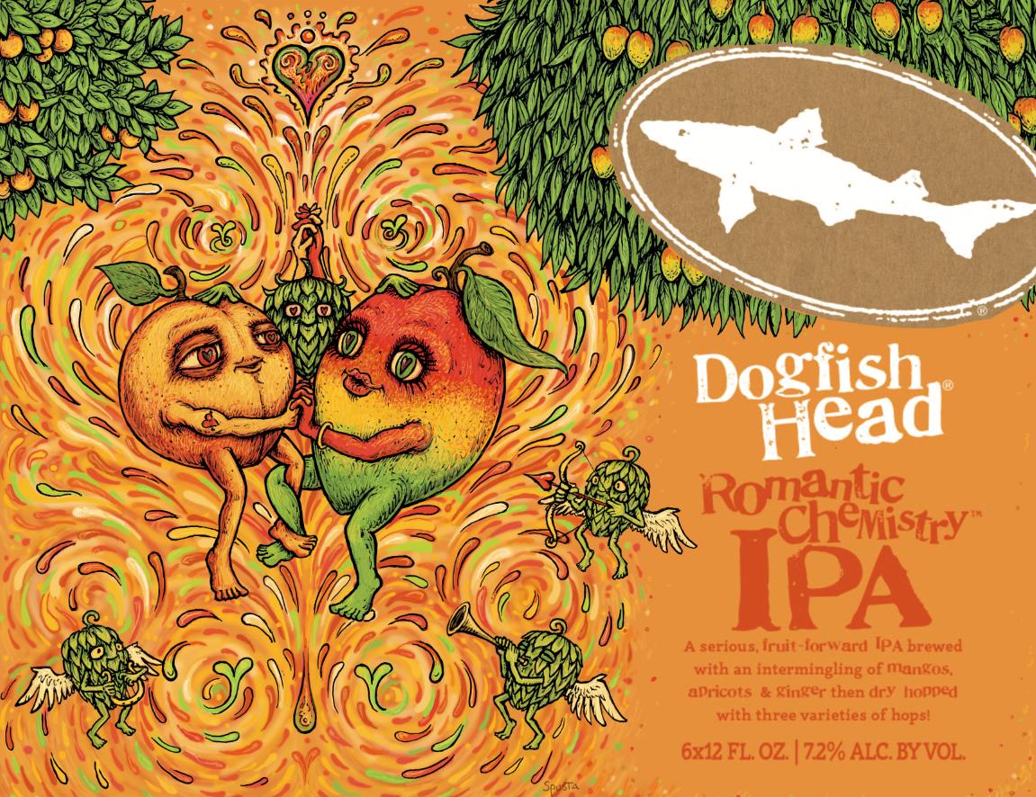 Dogfish Head Brewery >> Dogfish Head's Romantic Chemistry IPA | Marq Spusta
